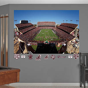 Texas A&M Aggies - Kyle Field Mural