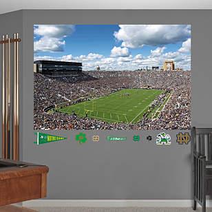Notre Dame Stadium Mural