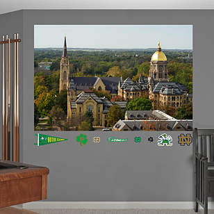 Notre Dame Campus Mural