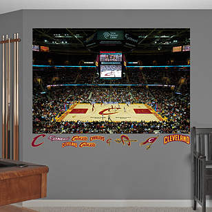 Cleveland Cavaliers Quicken Loans Arena Mural