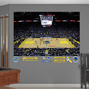 Golden State Warriors Arena Mural
