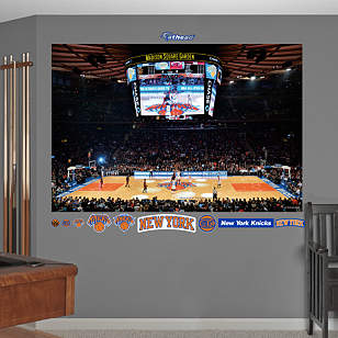 New York Knicks Arena Mural
