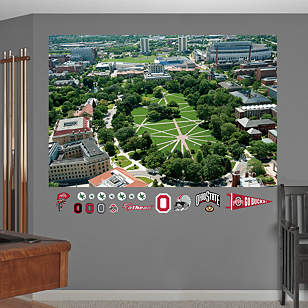 Ohio State - The Oval Mural