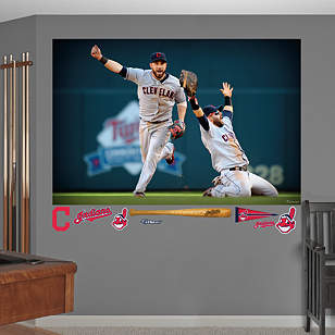 Jason Kipnis - Nick Swisher Celebration Mural