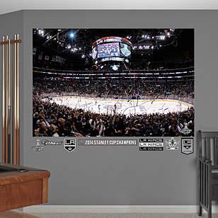 Los Angeles Kings Stanley Cup Arena Mural