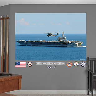 USS George H.W. Bush CVN-77 Mural