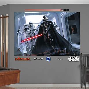 Darth Vader™ & Stormtroopers™ Fallen Rebel Mural
