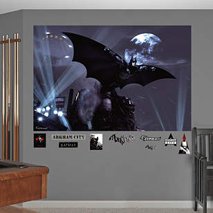Batman Arkham City Soar Mural