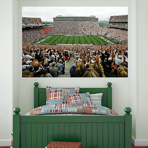 Penn state beaver stadium mural fathead wall decal for Beaver stadium wall mural