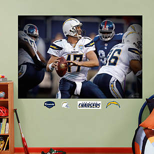 Philip Rivers In Your Face Mural