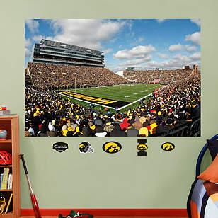 Iowa Hawkeyes - Kinnick Stadium Mural