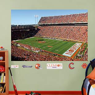 Clemson Tigers - Memorial Stadium Mural