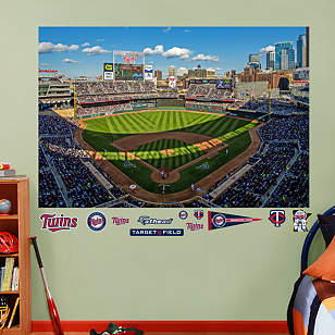 Inside Target Field Mural