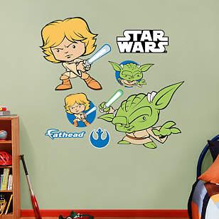 Luke Skywalker & Yoda POP!