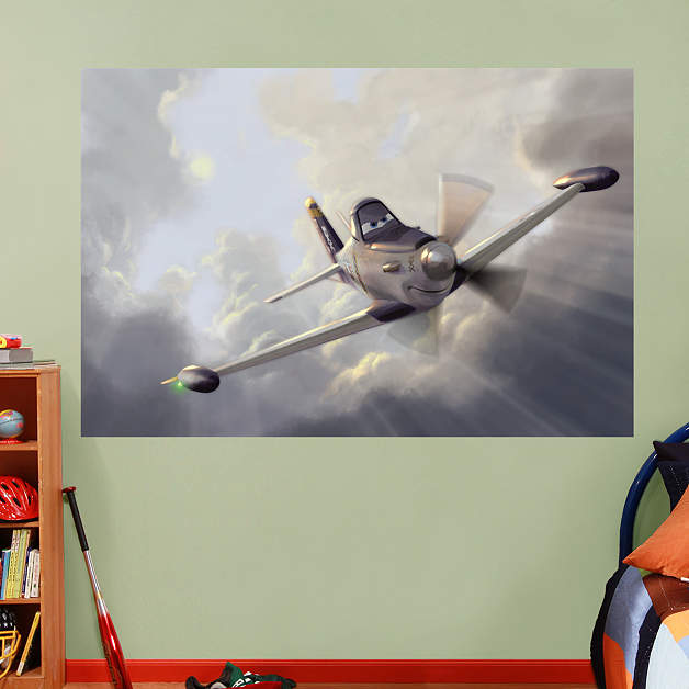 Dusty mural fathead wall decal for Disney planes wall mural