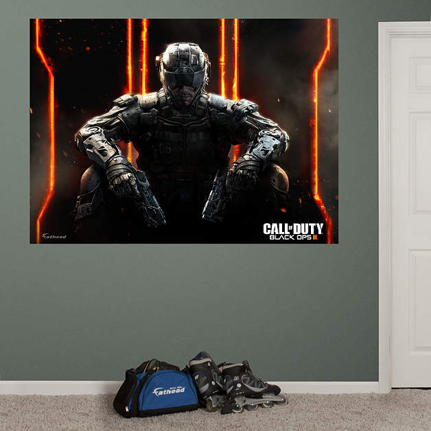 Call of duty black ops 3 mural wall decal shop fathead for Black ops 3 decorations