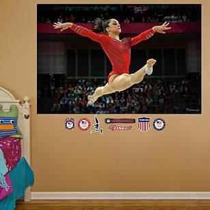 Jordyn Wieber Leap Mural