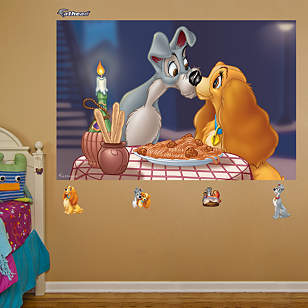 Lady and the Tramp Mural