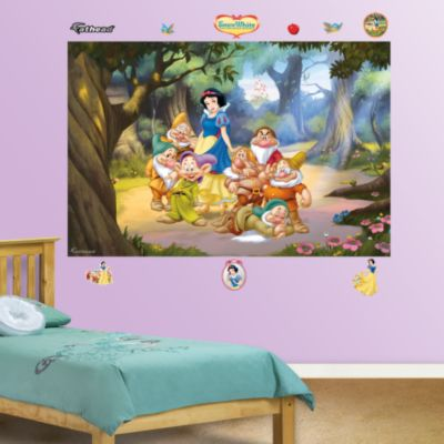 Lady and the Tramp Mural Fathead Wall Decal