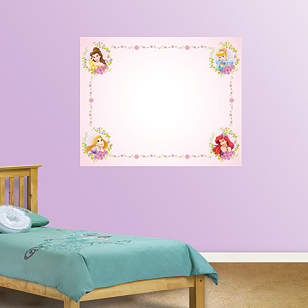 Dry Erase Disney Princess Whiteboard