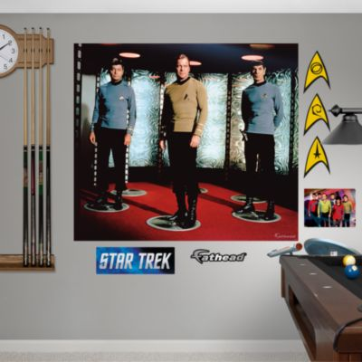Star Trek: The Original Series Crew Mural Fathead Wall Decal