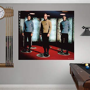 Star Trek: The Original Series Crew Mural