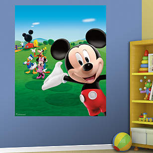 Mickey Mouse Clubhouse Mural