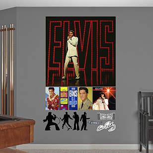 Elvis Presley – '68 Comeback Special Album Cover Mural