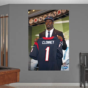 Jadeveon Clowney Draft Day Mural