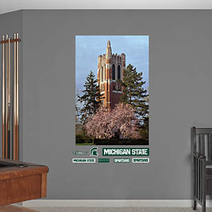 Michigan State - Beaumont Tower Mural