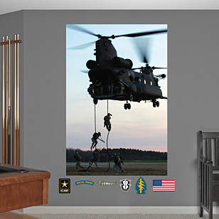 United States Army Special Operations Command Mural