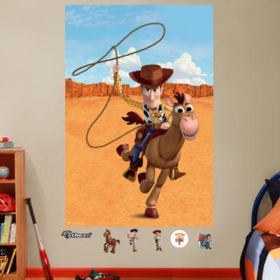 Woody & Bullseye Mural