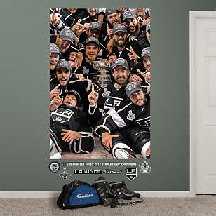 Los Angeles Kings Team Stanley Cup Mural