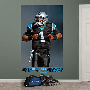 Cam Newton Superman Mural
