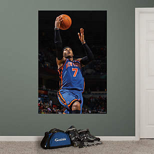 Carmelo Anthony Mural