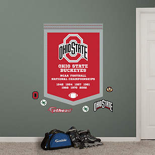 Ohio State Buckeyes - NCAA Football National Championship Banner