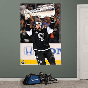 Justin Williams Stanley Cup Hoist Mural
