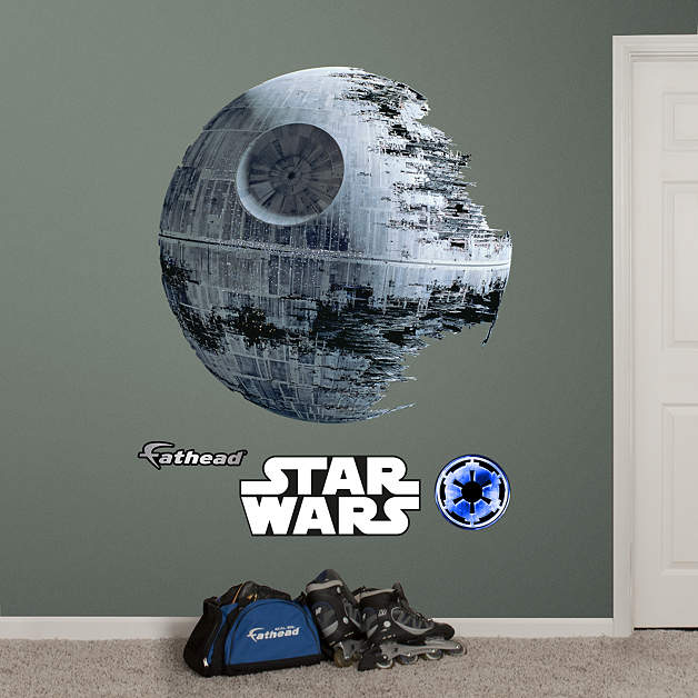 1 877 328 8877 for Death star wall mural
