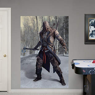 Connor Battle Ready Mural: Assassin's Creed III