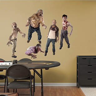 Walkers collection wall decal shop fathead for the for Mural walking dead