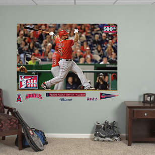 Albert Pujols - 500th Home Run Mural
