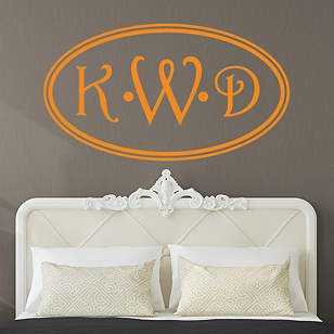 Oval Personalized Monogram