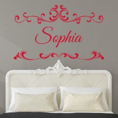Scroll Script Personalized Name