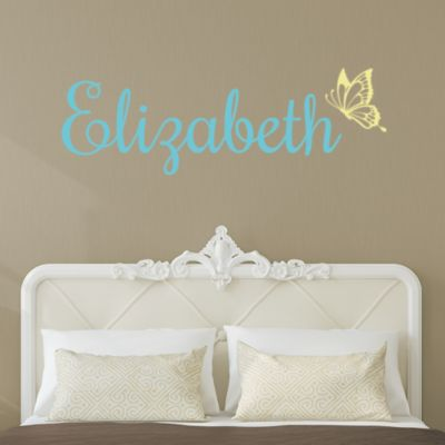Butterfly Script Personalized Name