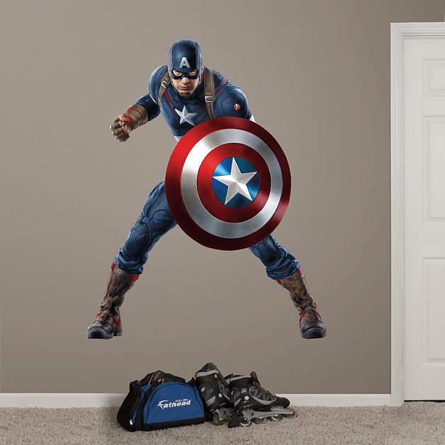 Captain America Age Of Ultron Wall Decal Shop Fathead