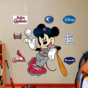 Mickey Mouse - St. Louis Cardinal