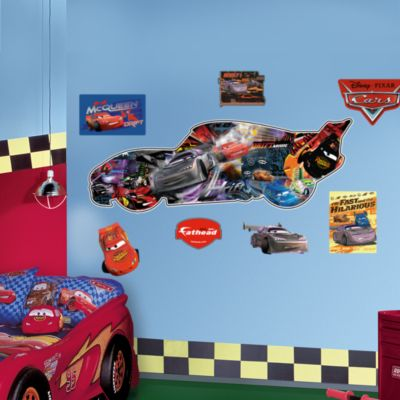 Lightning McQueen Fathead Wall Decal