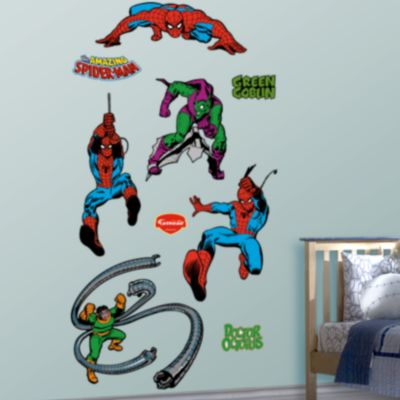 Classic Superheroes Fathead Wall Decal