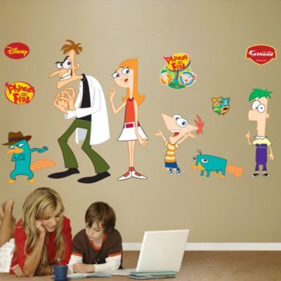Phineas and Ferb Collection Fathead Wall Decal
