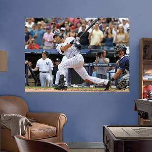 Derek Jeter 3000th Hit Mural